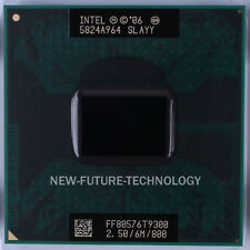 Intel Core 2 Duo T9300 2.5GHz 6MB 800 MHz Socket M,P PGA478 CPU Processor Tested