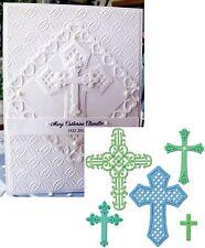 Cross Die set CROSSES 2 - SPELLBINDERS S5093 All Occasion,Easter,Baptism,wedding