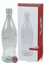 COCA COLA COKE HUGE DISPLAY GLASS BOTTLE BANK   NEW!!
