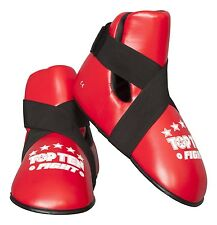 "Fussschutz ""fight"" de top ten. bayfill. para kick boxing, TKD, karate, SV, Wing Tsu"