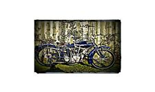 1916 Indian Power Plus Bike Motorcycle A4 Photo Poster