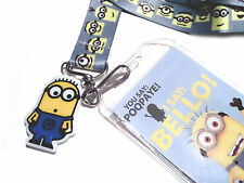 Despicable Me Minion Bello Neck Strap Cell Phone ID Card Key Lanyard
