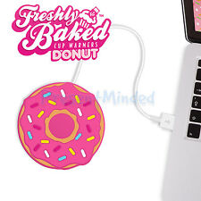 DONUT USB Cup Warmer Tea Coffee Mug Stand Heater- Keep Your Drink Warm
