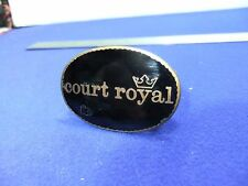 vtg badge court royal staff badge fattorini  hotel tourism 1920s 30s ?