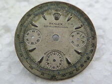 ROLEX VINTAGE CHRONOGRAPH DIAL AUTHENTIC NOT REFINISHED -RARE- 1940s-60s