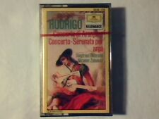 Rodrigo: Concerto di Aranjuez / Concerto - Serenata per arpa mc cassette k7 NEW!