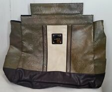Miche Bag PRIMA SHELL ERIN green/brown tooled faux-leather