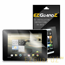 2X EZguardz Clear Screen Protector Shield 2X For Acer Iconia A1-810