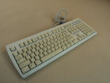 NMB Deluxe Computer Keyboard PS2 Light Gray Clicky PS/2 RT2258TW