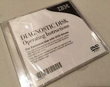 IBM Diagnostic Disk Systems Test Tool DVD Rom P53P2519 New Sealed