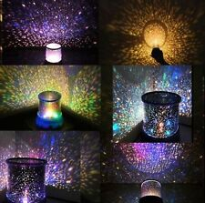 Romantic Star Master Sky Laser Projector Cosmos Night Light Lamp Gift for Room