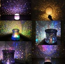 LED Starry Night Sky Projector LED Night Light Nightlight Star Light Lamp Gift