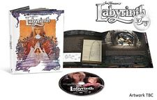 LABYRINTH BLU-RAY 1986 JIM HENSON MOVIE BOOK EDITION 30TH ANNIV. (NO DIGITAL) 4K