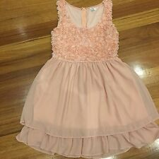 ValleyGirl Size 10 Dress Pink Cocktail Evening New Bnwot