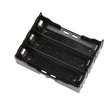 3-Slot Storage Box Holder Case For 3x Li-ion Lithium 18650 3.7V Battery With Pin