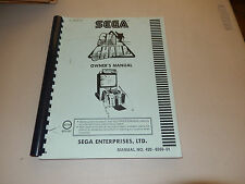 SKI CHAMP SEGA     video game owners manual