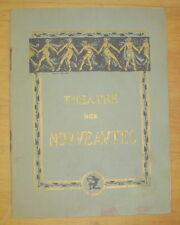 PROGRAMME THEATRE DES NOUVEAUTES OPERETTE OH! PAPA! de ANDRE BARDE 1932/33