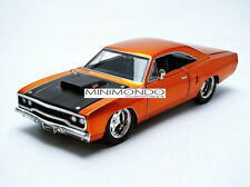 DOM'S PLYMOUTH ROAD RUNNER FAST & FURIOUS 7 1/24 JADA TOYS 97126 97126OR