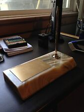 Onyx Marble slab engraving and pen set