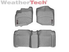 WeatherTech® DigitalFit FloorLiner  - Honda Fit - 2009-2013 - Grey
