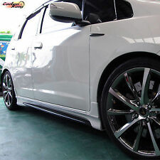 HONDA FIT SIDE SKIRTS 4DR JAZZ BODY KIT NEW 09-12 ☆