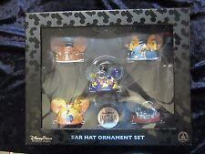 Walt Disney's Fantasia - ear hat 5 piece ornament set - New in Box - Beautiful