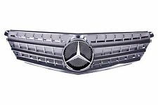 For Mercedes Benz C Class W204 Sport Style Grille Chrome C300 C350 , 2007-10 NEW