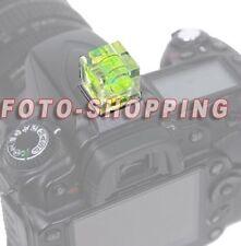 Hot Shoe Bubble Spirit Level FLASH FOTOCAMERA NIKON D7200 D7100 D7000 D40