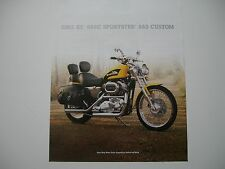 2003 HARLEY DAVIDSON 100TH FLSTC HERITAGE SOFTAIL OEM BROCHURE SPEC SHEET