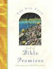 The One Year Book of Bible Promises by Tyndale House Publishers Staff (2000,...