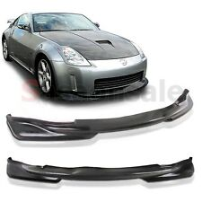 Fit for 03 04 05 Nissan 350Z Fairlady Z33 King Style Front PU Bumper Lip