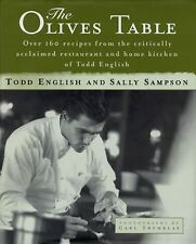 The Olives Table by Sally Sampson and Todd English (1997, Hardcover)