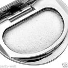 Single Colour Makeup Eye Shadow Pressed Palette Charm Heart Shiny Cosmetic White