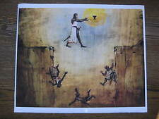 "Indiana Jones & the Last Crusade - Leap of Faith ( CANVAS ) Poster 10"" x 12-3/4"""