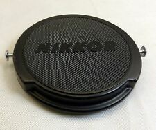 52mm Nikon Nikkor Front Lens cap cover genuine JUM 515897 metal slips Genuine