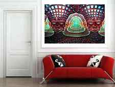 PSYCHEDELIC TRIPPY LARGE WALL ART PICTURE POSTER PRINT WHOLE POSTER A1 SIZE NEW