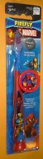 Marvel Heroes Child's Toothbrush Travel Kit New Cap and Toothbrush Spiderman