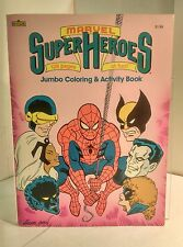 Marvel Super Heroes Jumbo Coloring & Activity Book
