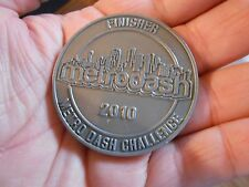 2010 Metro Dash Houston TX Heroes Military Police & Fire Dept Challenge Coin N8