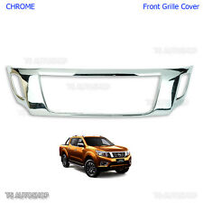 Chrome Front Grille Cover Grill For Nissan Navara Np300 2015 2016 Pickup Truck