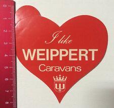 Aufkleber/Sticker: I Like Weippert Caravans (10031696)