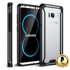 Poetic For Samsung Galaxy S8 Case [Affinity Series] Shockproof TPU Cover Black