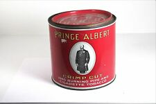 Vintage Prince Albert Crimp Cut Pipe & Cigarette Tobacco 14 OZ. Tin Can