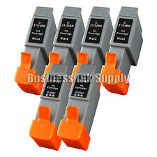 6 PACK Ink BCI 24 CANON MP360 MP370 MP390 PIXMA iP1500