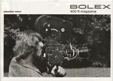 BOLEX 400FT MAGAZINE INSTRUCTIONS MANUAL FREE SHIP