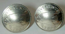 Coin Jewelry~Bermuda Queenfish cuff links- Handmade in the USA