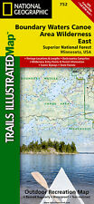 Trails Illustrated Boundary Waters Canoe area Wilderness East Closeout!