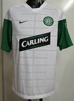 CELTIC 2009/10 S/S WHITE TRAINING SHIRT BY NIKE SIZE ADULTS SMALL BRAND NEW