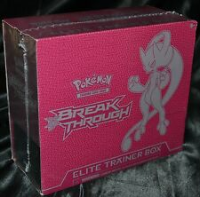 Mega Mewtwo Y EX Elite Trainer Box XY BREAKthrough Set Pokemon Trading Cards