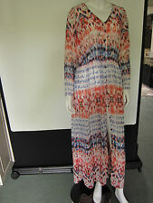Solange Floral Chiffon button front Maxi Dress,Hippy boho chic,Festival Party